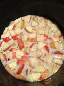 Apple Cinnamon Steel-Cut Oatmeal -- Crock Pot/Slow Cooker Recipe