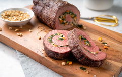 An amazing Alberta beef butterfly roast is not extra charge at Cut Rite Meats.