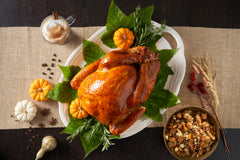 Try a Cut Rite Meats Fresh Whole Turkey with a Twist with this amazing Pumpkin Spice Turkey Recipe.