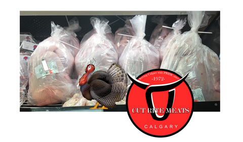 Alberta turkeys from a farm near me and you available at Cut Rite Meats.