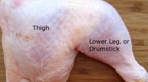 Grab & G0:  Chicken Legs (4 Pound Bag)