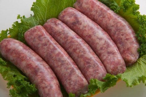 Grab & Go: Sausage: Regular Beef Sausages (pkg 4)