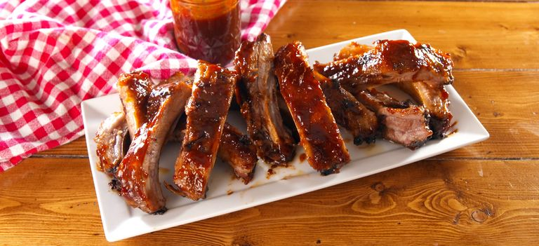 Smoker: Ribs: Pork & Beef (ranging in price from $32.85 to $159): Jimmy's Smoke Shack Special