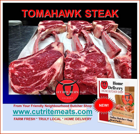 Custom: Steak: Tomahawk Steaks (per Steak)
