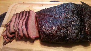 The Big Brisket $7.95lb Super Sale: Cut Rite Meat's Beef Brisket in Jimmy's Smoke Shack