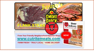 Check out the Beef Flank Steak from Cut Rite Meats and slow cook it on your bbq tonight.