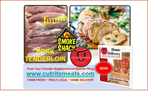 Pork tenderloin so tender and delicious when you buy from Cut Rite Meats.