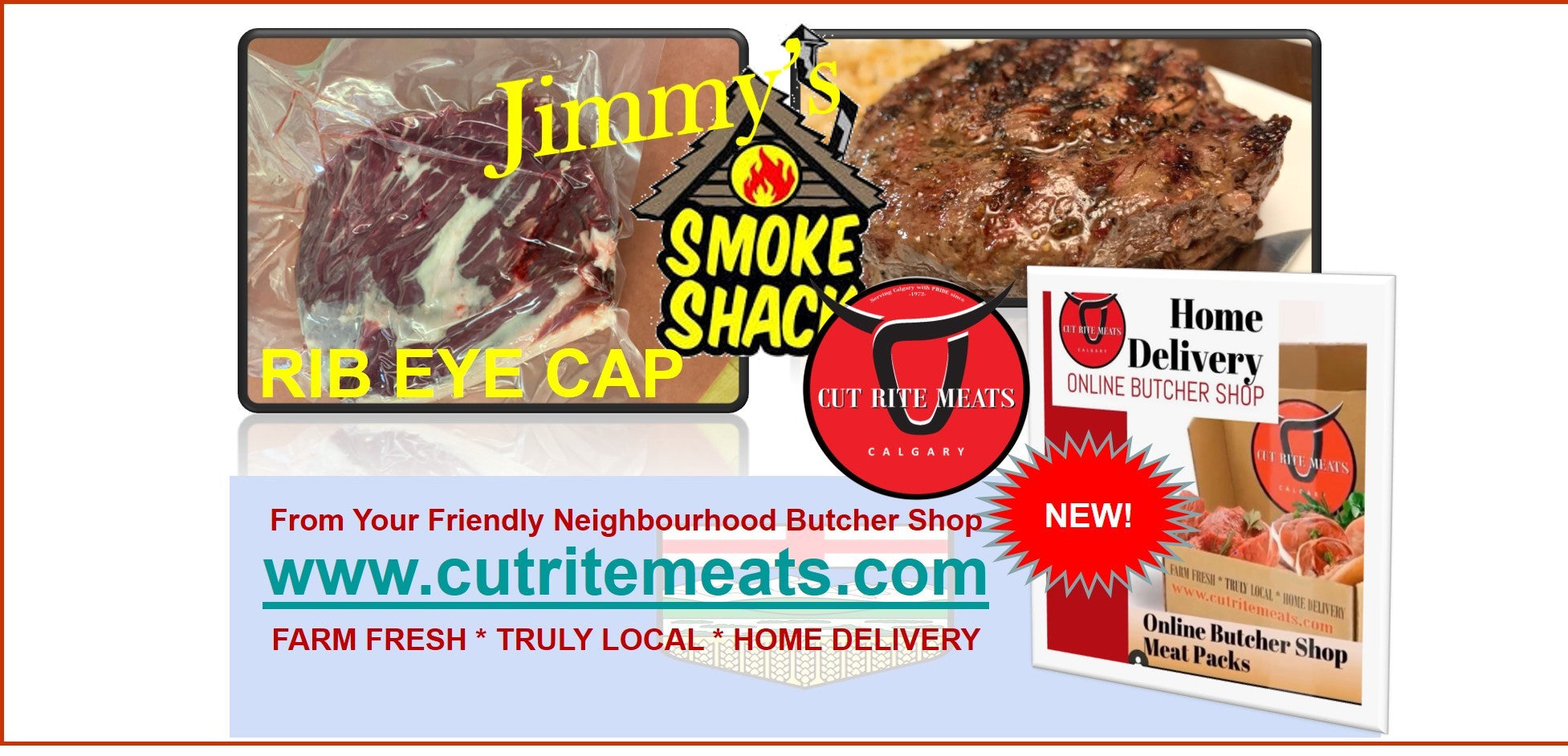 Beef Rib Eye Cap from Cut Rite Meats is so delicious and amazing to really make your meal special tonight.