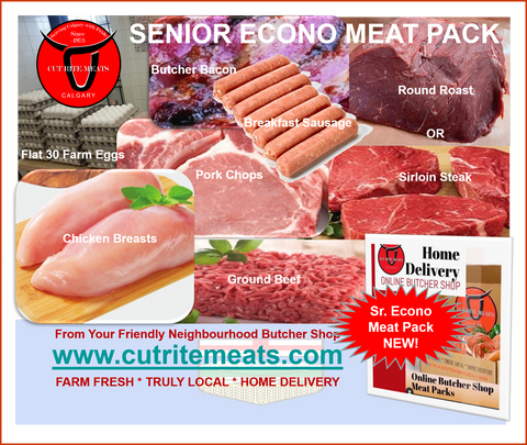 -BUTCHERS FAVE: BUTCHER BOX: $69.95 Senior Econo Meat Pack