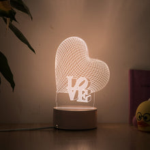 Load image into Gallery viewer, Romantic 3D Lamp