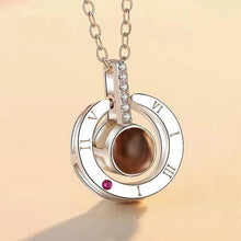 "Load image into Gallery viewer, ""I Love You"" 100 Language Necklace"