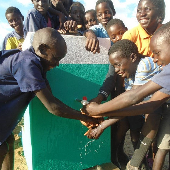 Donate Permanent Hand Washing Facilities to a School