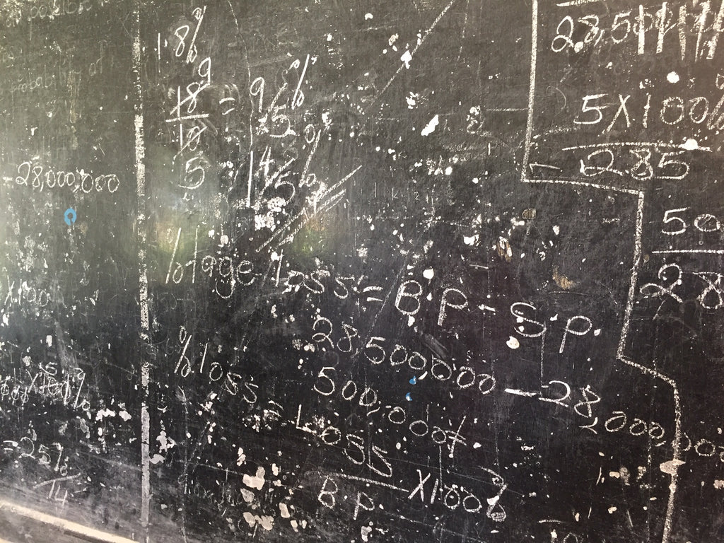 Refurbish a Blackboard