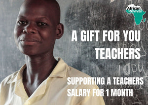 Donate a Teacher's Salary for One Month