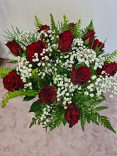 Load image into Gallery viewer, 1 Dozen red roses