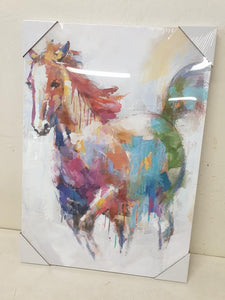 Large watercolour horse