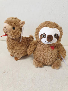 sloth and llama
