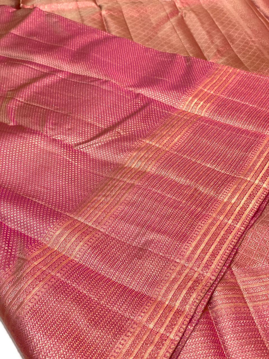 KANCHIPURAM  PURE SILK BRIDAL SAREE