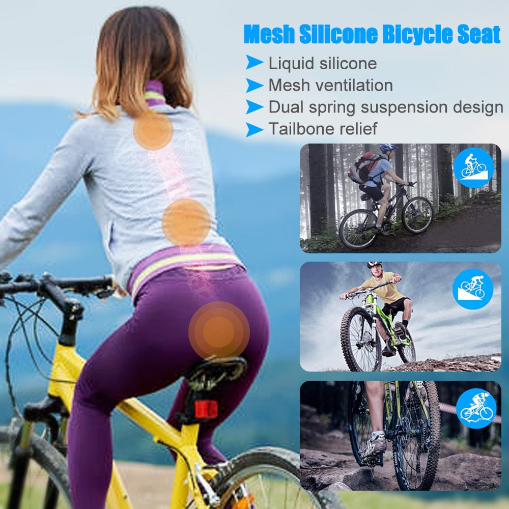 Liquid Silicone Bicycle Seat