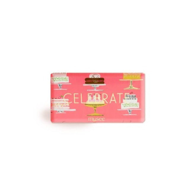 MUSEE BATH - BAR SOAP - CELEBRATE