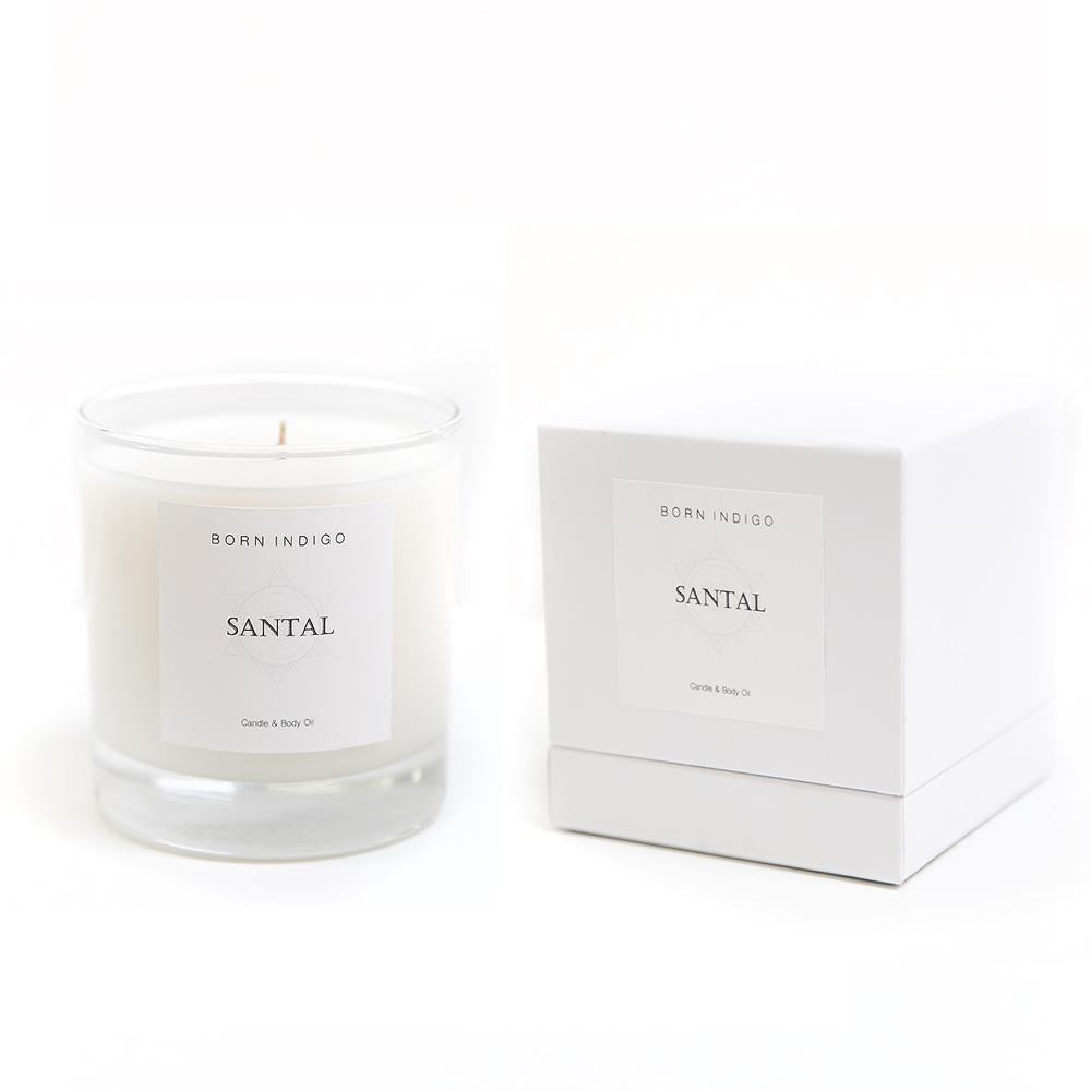 BORN INDIGO - CANDLE - SANTAL
