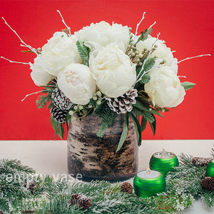 Holiday Peonies