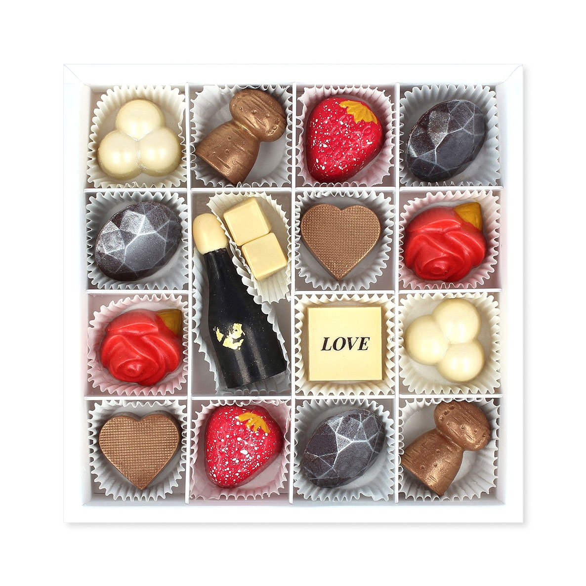 MAGGIE LOUISE CONFECTIONS - LOVESTRUCK CHOCOLATES