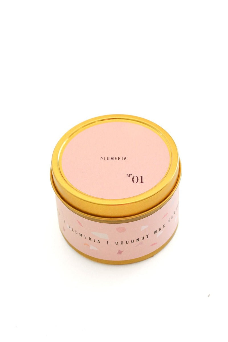 ESSELLE - TRAVEL CANDLE - PLUMERIA