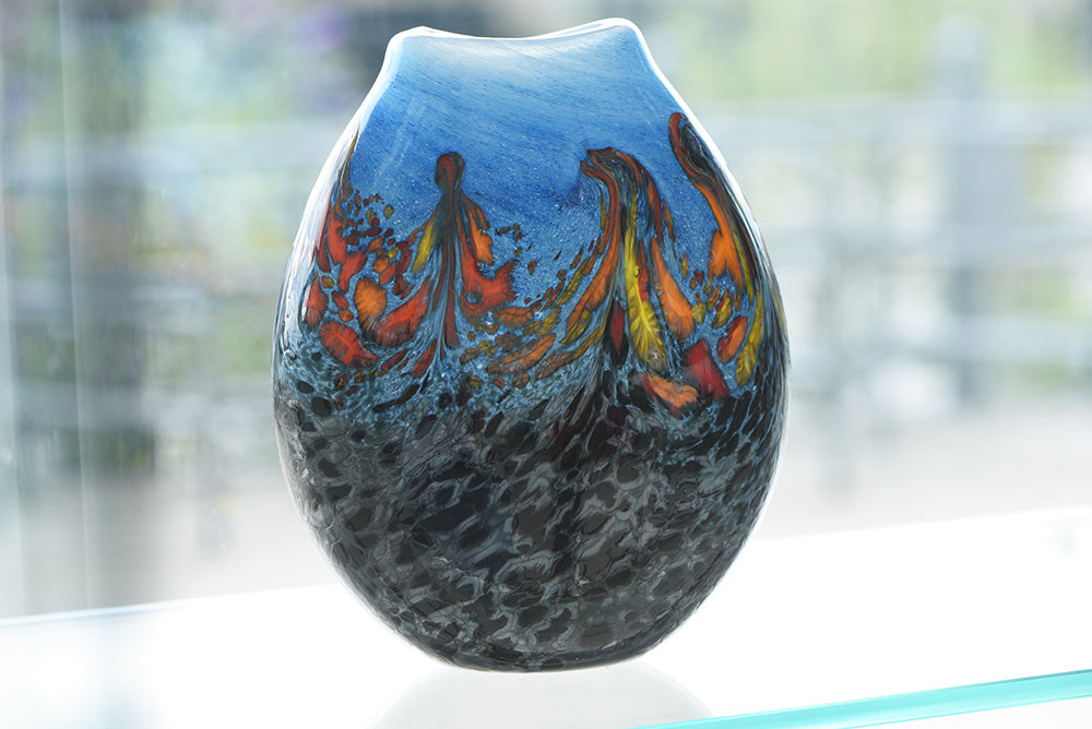 Large Scenery Vase - Multicoloured