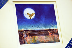 Carol Nunan Mounted Print - On the Hunt