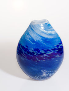Medium Vase in Blue Tones