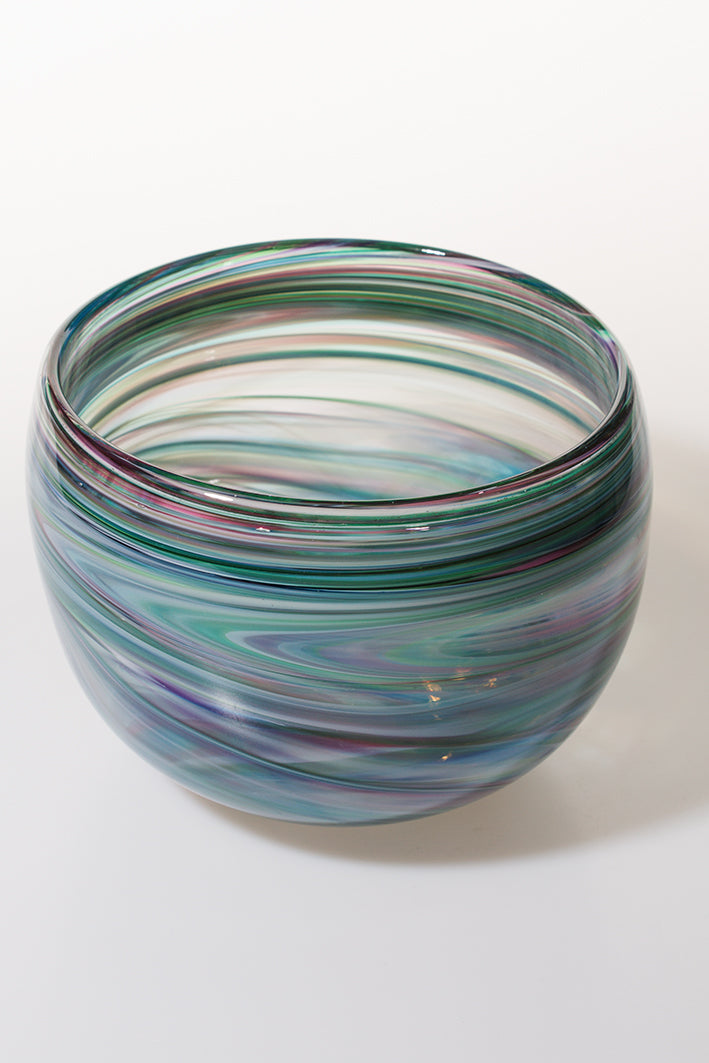 Swirled Bowl - Multicoloured