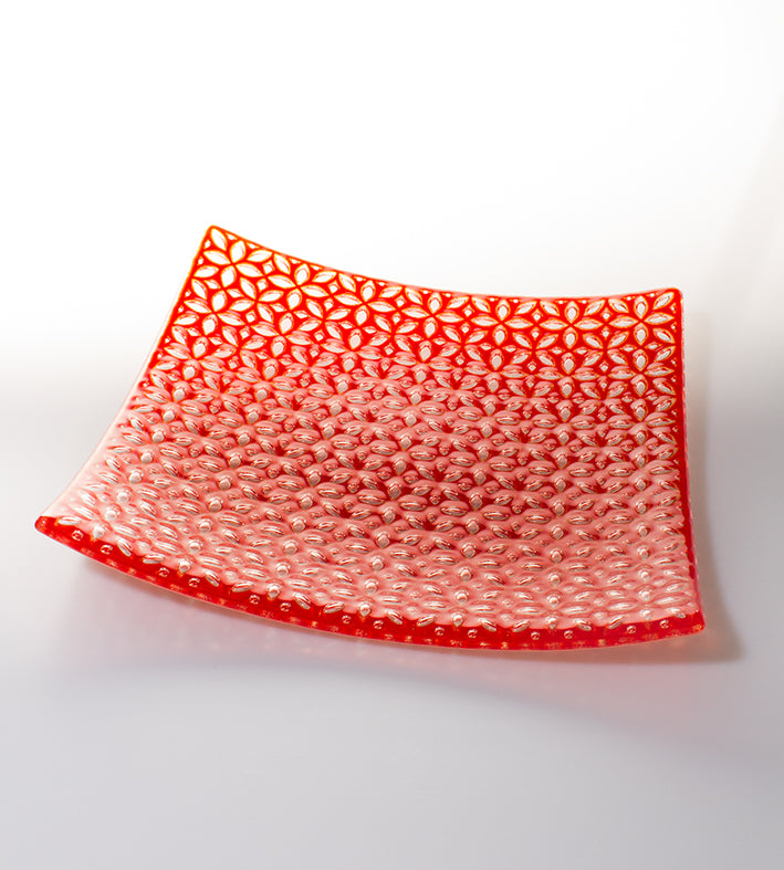 Jade Tapson: Printed Plate - Red