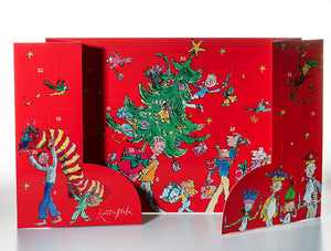 Advent Calendar Quentin Blake Christmas Tree