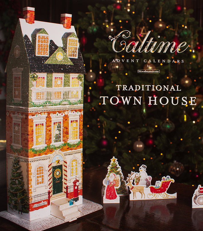 Advent Calendar Traditional Town House