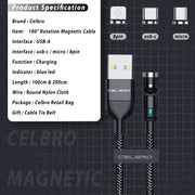 540 Degree Magnetic Cable.