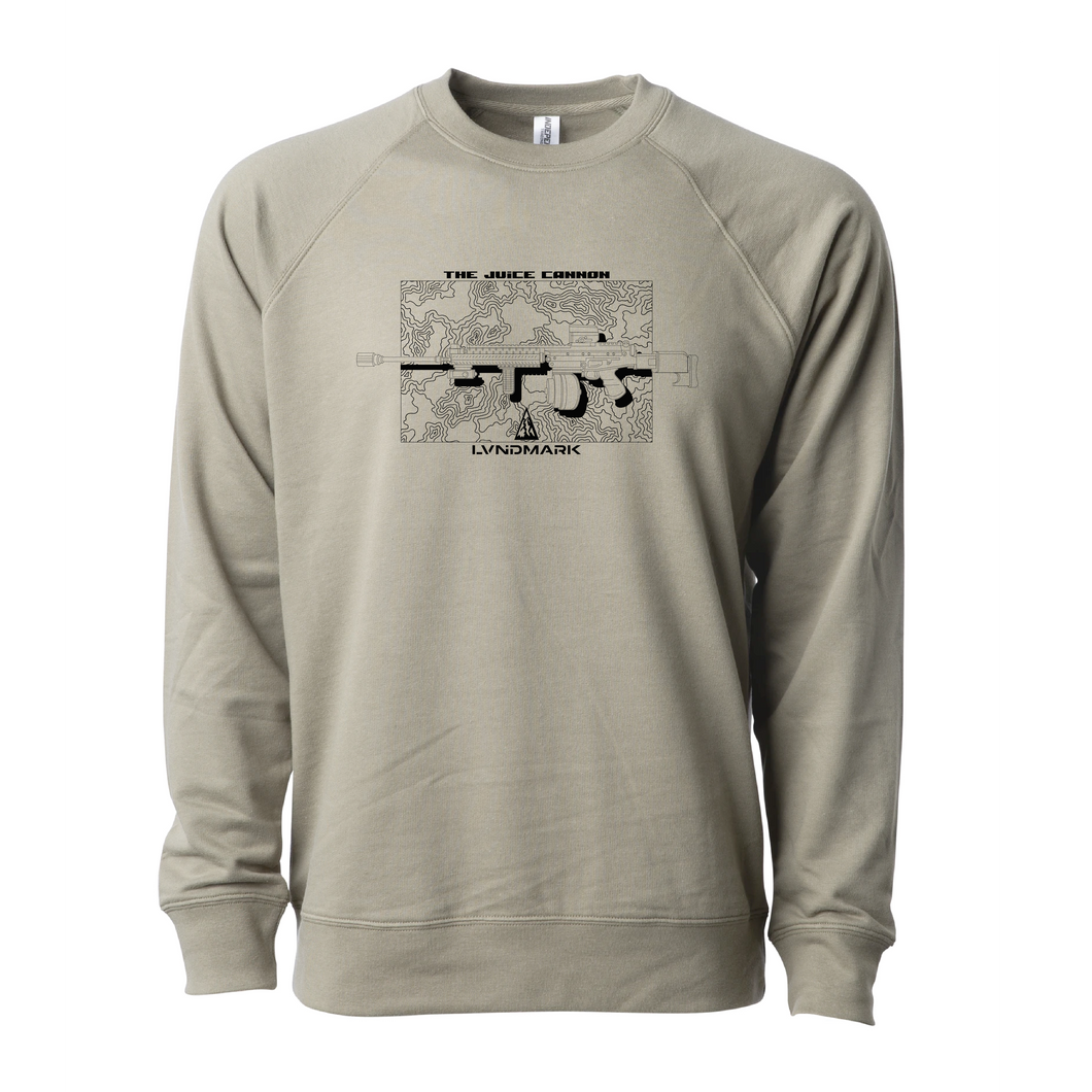 Juice Cannon Crew Sweatshirt