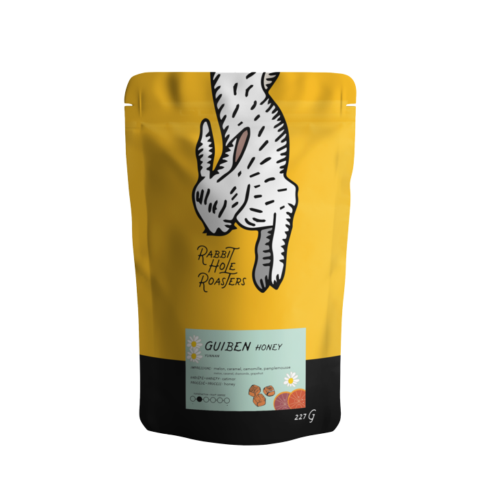 Rabbit Hole Roasters- Yunnan- Guiben Honey 227G