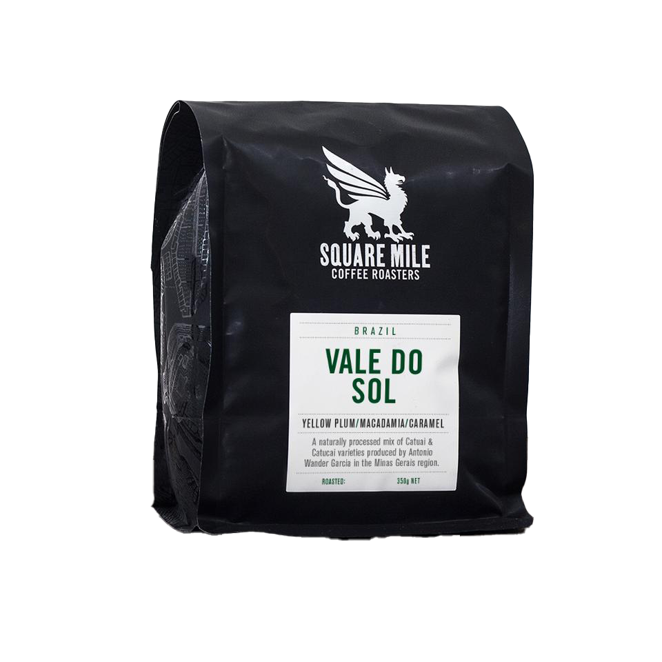 Square Mile Coffee Roasters- Brazil- Vale Do Sol- 350G