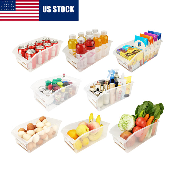 Plastic Storage Containers(Set of 8)