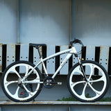 MACCE Mountain 24inch White Bicycle