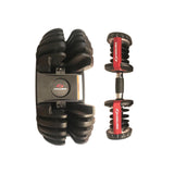 HOUME Adjustable Dumbbells Pair(52.5lb+52.5lb)