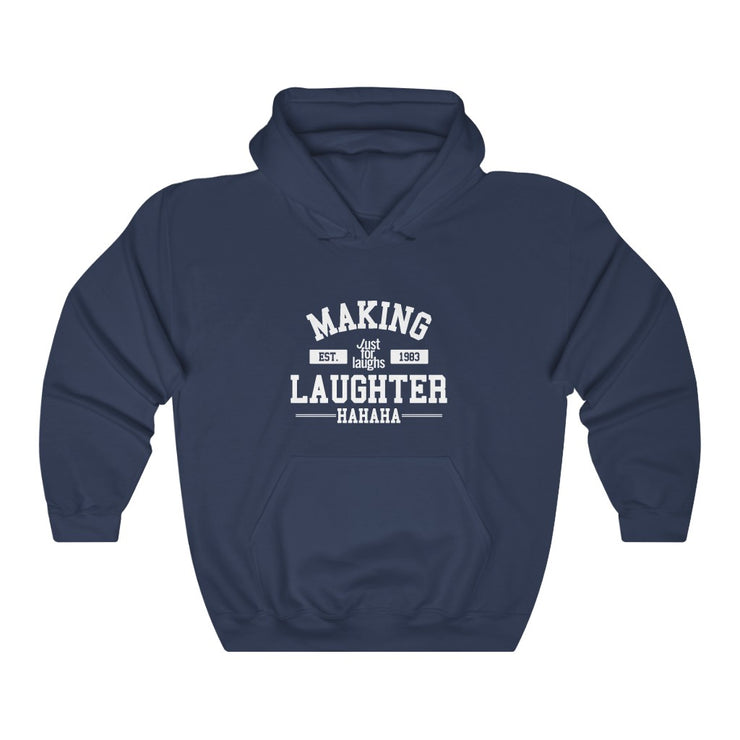 Making laughter - Unisex - Hooded Sweatshirt