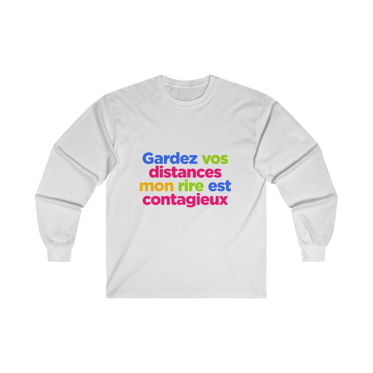 Gardez vos distances - Long Sleeve Tee