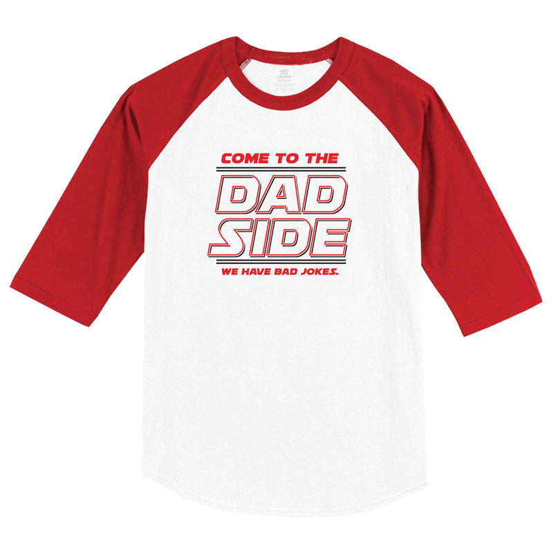 Dad Side Raglan Tee