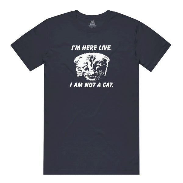 Zoom Call Cat Tee