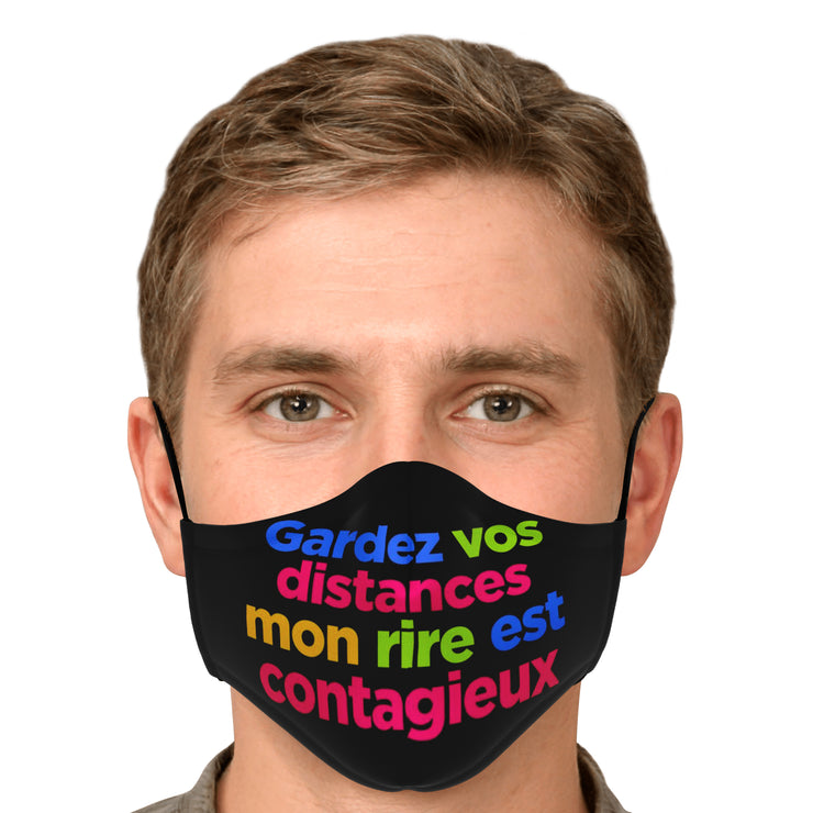 Gardez vos distances -  Face Mask