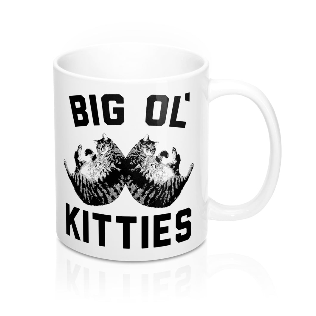 Big Ol Kitties 11 Oz Coffee Mug