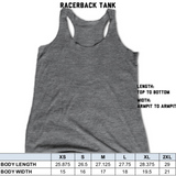 Shine Bright Womens Racerback Tank Top