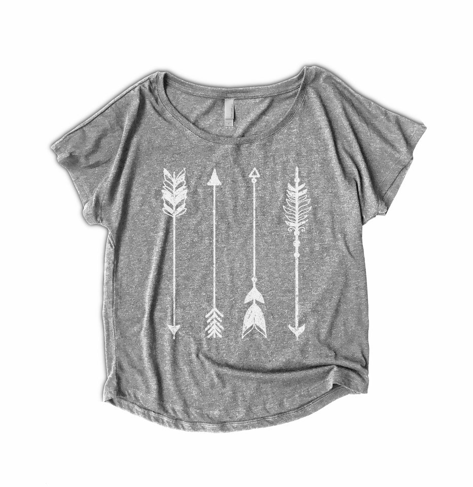 Arrow Pattern Womens Shirt